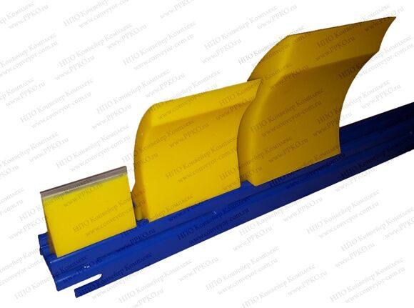 Чистик на конвейер ленточного конвейера введение
